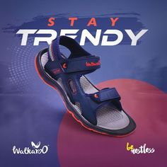 Make every stride stylish with the sporty sandals from Walkaroo!  #Walkaroo #BeRestless #Walkaroo10565 Sport Sandals, Sporty, Stylish, Men, Shoes, Products, Fashion, Zapatos, Moda