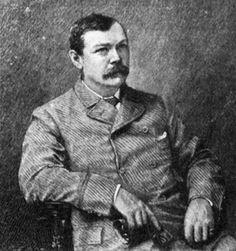 Grabado de Conan Doyle
