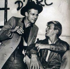 """Paul Simonon of """"The Clash"""" & David Bowie"""