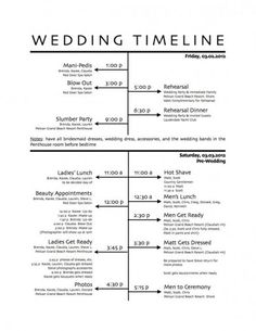 wedding day schedule download a template for creating a stress