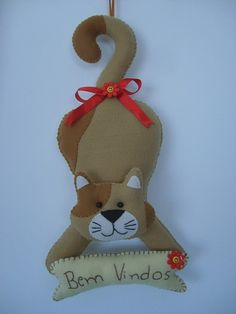 Gatinho vencedor!!! by Arte & Mimos, via Flickr