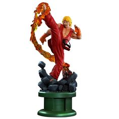 Street Fighter Ken 1:4 Ultra Classic Exclusive Statue w/ Dragon Flame (1st Qtr 2018) #kenmasters #streetfighter #pcscollectibles #fatsuma #popcultureshock #capcom #ken #arcade #videogame #classic #dragonflame #awesome #cool #instacool #beautiful #beauty #amazing #love #instalove #fun #art #instagood #collectible #toy #new