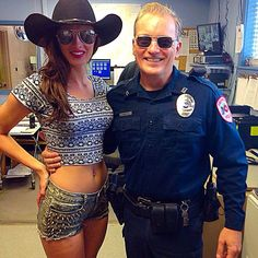 """On the set of a CMT video for Mikel Knight's """"Last Night in Texas"""" with actress, Kat Lovelo Actor Model, Country Girls, Candid, Texas, Actresses, Actors, Night, Female Actresses, Cowgirls"""