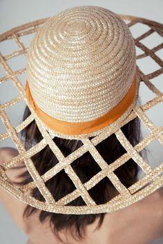 cutouts panama hat
