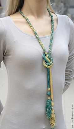 Tri Color Gold Rope Necklace amid African Beaded Rope Necklace for Monet Gold Rope Necklace versus Moissanite Jewelry Stores Near Me Seed Bead Jewelry, Bead Jewellery, Beaded Jewelry, Handmade Jewelry, Handmade Necklaces, Jewellery Shops, Jewelry Necklaces, Bead Crochet Patterns, Bead Crochet Rope