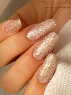 Barry M - Royal Glitter collection - Duchess + Princess swatch