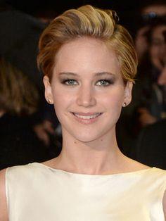 La mèche stylisée de Jennifer Lawrence