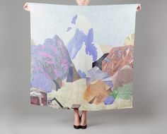Milleneufcentquatrevingtquatre Multicolor Cervin Silk Square on sale at L'Exception