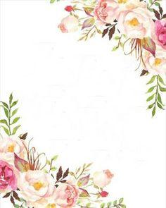 Resultado de imagen para fondos para tarjetas con flores