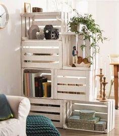separar amb caixes Decorando con: Cajas de Frutas | Decorar tu casa es facilisimo.com