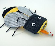 #bee #abella #school pencilcase