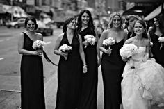 My kind of bridal party!