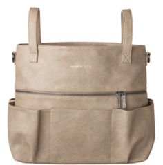 Top 5 Eco-Friendly Diaper Bags: The Honest Company Carryall Satchel #eco #baby #diaperbag