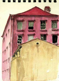 teresa ruivo: Prédios velhos, em Caxias