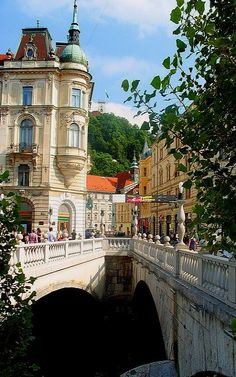 Ljubljana, Slovenia | Flickr - Photo by Mike Stirling