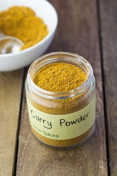 Curry Powder in a Jar