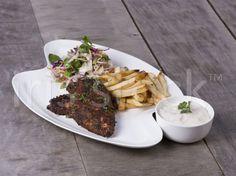 Cajun style chicken steak