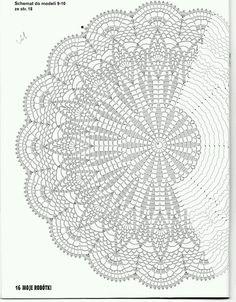 Use this pattern to make a Shaw, crochet on!use sports weight yarn or baby yarn. crochet doily by jest z 3 Poisk This Pin was discovered by Joa jacket, vest, or shawl Motif Mandala Crochet, Crochet Doily Diagram, Crochet Circles, Crochet Stitches Patterns, Crochet Round, Crochet Chart, Thread Crochet, Filet Crochet, Mode Crochet