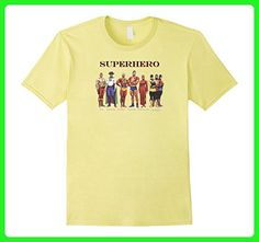 Mens T-shirt Classic Superhero Hydro Fighting Yank Silver Streak 2XL Lemon - Superheroes shirts (*Amazon Partner-Link)