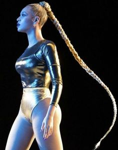 The real star of Beyoncé's TIDAL x 1015 charity concert performance was her glorious, Rapunzel-level braid.