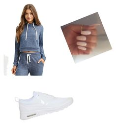 """""""Untitled #1468"""" by orexxxxx ❤ liked on Polyvore featuring Forever 21 and NIKE"""