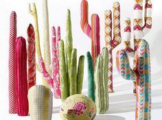 DIY : Comment créer une une forêt de cactus en tissus ?