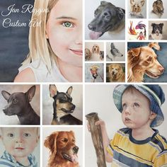 I specialize in commissioned portraits of pets and people, custom chalkboards and many other custom art projects. Custom Art, Art Boards, Art Projects, My Arts, Portrait, Pets, People, Headshot Photography, Portrait Paintings