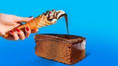 Fun Baking Recipes, Gourmet Recipes, Sweet Recipes, Yummy Recipes, Snack Recipes, Dessert Recipes, Cooking Recipes, Yummy Food, Desserts