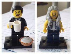 LEGO Agent Cooper and BOB - Twin Peaks - David Lynch