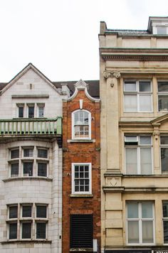 small buildings in London