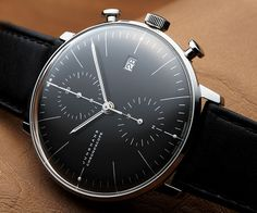 JUNGHANS クロノスコープ(Max Bill Chrono Scope) / Ref.027/4601.00