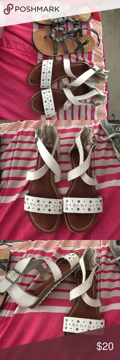 Girl sandals My granddaughter only wore them to church Rachel shoes  size 13. Mudd size 13 Mudd Shoes Sandals & Flip Flops