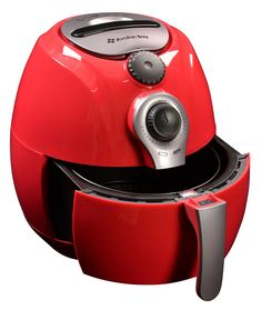 New Avalon Bay Air Fryer Quart Capacity, Healthy Fried Food, Includes Airfryer Baking Set Recipe Book, Red online shopping - Findtopbrandsgreat Red Air Fryer, Airfryer Philips Walita, Air Fryer Mondial, Best Deep Fryer, Best Air Fryers, Baking Set, Frying Oil, Healthy Oils, New Homeowner