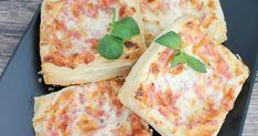 Pienet herkkusuut: Helpot ja herkulliset kinkku-juustoneliöt