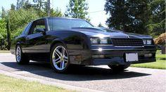 1988 Monte Carlo SS Chevrolet Monte Carlo, Car Chevrolet, Chevy Chevelle, Classic Chevrolet, Pontiac Firebird, Pontiac Gto, My Dream Car, Dream Cars, Custom Camaro