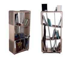 Experimental hybrid storage furniture graduation project 2012 photo: Réka Hegyháti Crossropes shelf desi...