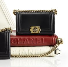 A New Classic Chanel Bag for A/F 2011 - Le Boy Chanel