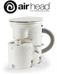 Compost Toilet Supplier: Airhead composting toilet for boats and RVs