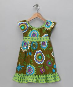 Take a look at this Moss Dress - Toddler & Girls by Moo Boo's on #zulily today!