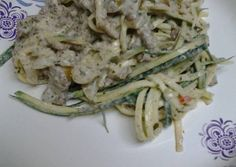 Zucchini white spaghetti Recipe -  I think Zucchini white spaghetti is a good dish to try in your home.