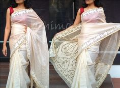 Tissue Kota With Cut Work Border Code 2703151 Delivery in 4 weeks For this saree please contact us by messaging our Inbox in FB / mailing us at ashima.retail@gma... or calling us at +91 484 4044800