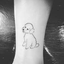 Resultado de imagem para tatuagem de cachorro delicada