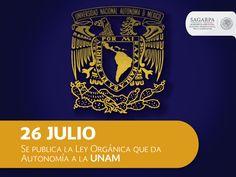 Ley orgánica que da autonomía a la UNAM. SAGARPA SAGARPAMX