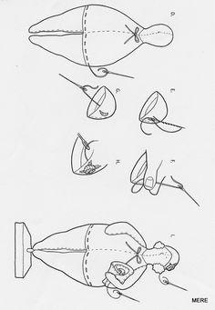 belindapatch: PATRONES DE TILDA BAD-DAMER (tilda gordi)
