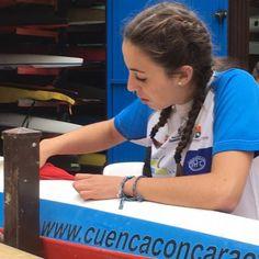 Celia Toledo Espinilla del Club Piragüismo Cuenca Con Carácter, campeona de España en Sevilla - Detalles - Voces de Cuenca