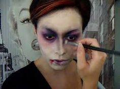 r sultat de recherche d 39 images pour maquillage mort vivant maquillage halloween pinterest. Black Bedroom Furniture Sets. Home Design Ideas