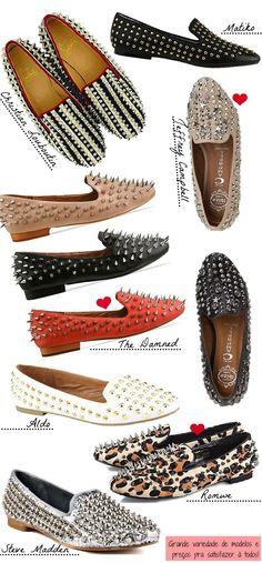Os loafers, ou slippers, vem tomando o lugar das sapatilhas e rasteirinhas. São lindos e deixam os looks bem mais elegantes.
