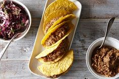 Easy Lentil Walnut Tacos with Cabbage Lime Slaw Recipe on Food52 recipe on Food52   -lettuce wrapped  -no tomatoes  -coconut aminos, no soy sauce - no agave/maple syrup