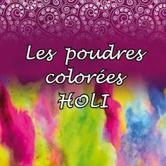 Poudres colorées Holi