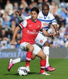 Arteta displaying poise. #QPR v #Arsenal